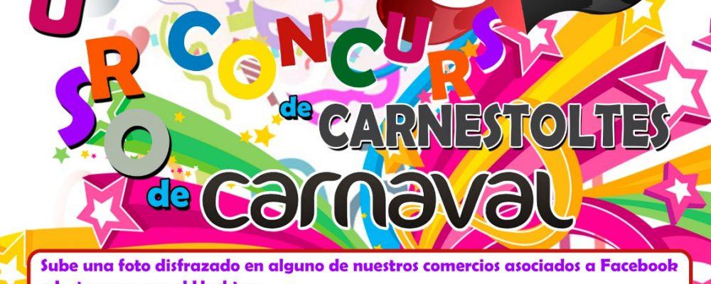 Las ganadoras del primer Concurso de Carnaval de la Asociación de Comerciantes y Empresarios de Crevillent